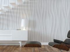 Mineheart, WAVES Carta da parati a striscia unica ecologica effetto 3D in carta in stile moderno