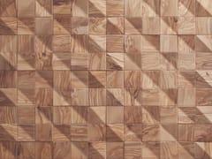 Rivestimento tridimensionale in legno per interniWAVES - WONDERWALL STUDIOS