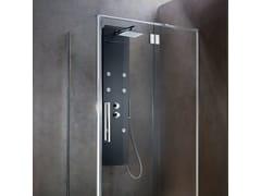 Colonna doccia a parete con doccetta con idromassaggioWAY | Colonna doccia - KAROL ITALIA