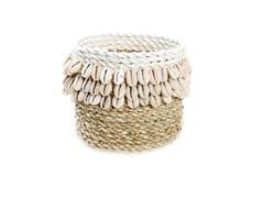 Cesto in fibre vegetaliWEAVED COWRIE #1 - BAZAR BIZAR