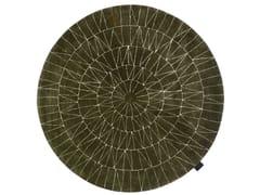 Tappeto fatto a mano rotondo a motivi geometriciWEB - ASPLUND