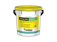 Weber Saint-Gobain, WEBER.DEKO EXTREME L Smalto murale lucido all'acqua per interni
