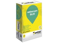 Adesivo rasanteWEBERCEM BL20 - SAINT-GOBAIN WEBER