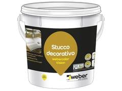 Stucco decorativoWEBERCOLOR VISION - SAINT-GOBAIN WEBER