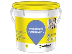 Pittura organica colorata al quarzoWEBERCOTE ACRYLCOVER L - SAINT-GOBAIN WEBER