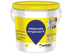Pittura colorata ai silossaniWEBERCOTE ACRYLCOVER R - SAINT-GOBAIN WEBER