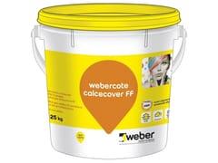 Rivestimento traspirante a calceWEBERCOTE CALCECOVER FF - SAINT-GOBAIN WEBER