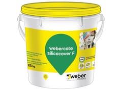 Pittura minerale colorata ai silicatiWEBERCOTE SILICACOVER F - SAINT-GOBAIN WEBER