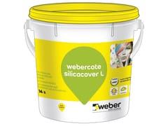 Pittura minerale colorata ai silicatiWEBERCOTE SILICACOVER L - SAINT-GOBAIN WEBER