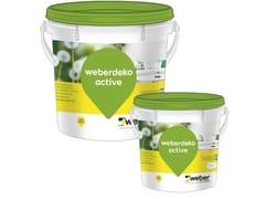 Saint-Gobain Weber, WEBERDEKO ACTIVE Idropittura traspirante semilavabile resistente a muffe e funghi