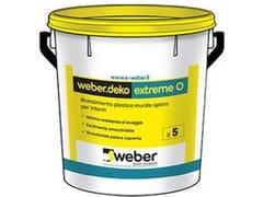 Weber Saint-Gobain, WEBERDEKO EXTREME O Smalto murale opaco all'acqua per interni