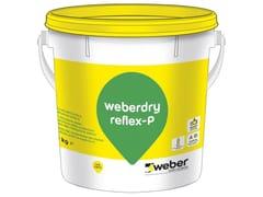 Pittura monocomponente ad alte prestazioniWEBERDRY REFLEX-P - SAINT-GOBAIN WEBER