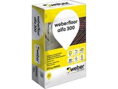 Saint-Gobain Weber, WEBERFLOOR ALFA 300 Sottofondo autolivellante