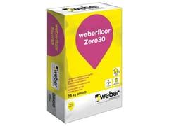 Livellante rasante a presa rapidaWEBERFLOOR ZERO30 - SAINT-GOBAIN WEBER