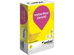 Saint-Gobain Weber, WEBERFLOOR ZERO30 Sottofondo autolivellante