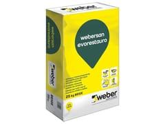 Intonaco da risanamento alla calceWEBERSAN EVORESTAURO - SAINT-GOBAIN WEBER
