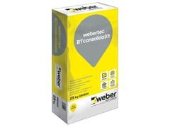 Betoncino per applicazione meccanizzata fibratoWEBERTEC BTCONSOLIDA35 - SAINT-GOBAIN WEBER
