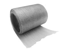 Tessuto in fibre di acciaio galvanizzatoWEBERTEC NASTRO650 - SAINT-GOBAIN WEBER