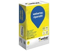 Malta tixotropica medio-rapidaWEBERTEC RIPARA20 - SAINT-GOBAIN WEBER