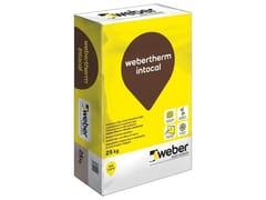 Intonaco alla calce idraulica naturaleWEBERTHERM INTOCAL - SAINT-GOBAIN WEBER