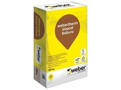 Rasante alla calce idraulicaWEBERTHERM INTOCAL FINITURA - SAINT-GOBAIN WEBER