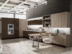 Cucina componibile con maniglie integrateWEGA - ARREDO 3