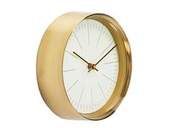 Orologio in acciaio da pareteWEST COAST GOLD - KARE DESIGN