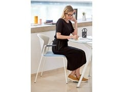 Sedia impilabile con cuscino integratoWHASS | Sedia con cuscino integrato - ACTIU