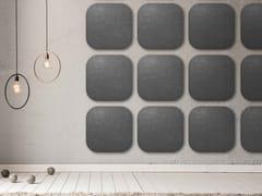 Pannello acustico a parete in lanaWHISPERWOOL APPS | Pannello acustico a parete - TANTE LOTTE DESIGN