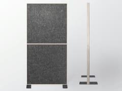 Divisorio ufficio fonoassorbente in lanaWHISPERWOOL DIVA | Divisorio ufficio - TANTE LOTTE DESIGN