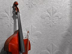 Pannello decorativo acustico in lana di pecoraWHISPERWOOL FLEUR DE LIS - TANTE LOTTE DESIGN