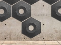 Pannello acustico a parete in lanaWHISPERWOOL HONEY | Pannello acustico a parete - TANTE LOTTE DESIGN