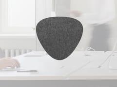 Pannello divisorio da scrivania fonoassorbente in lanaWHISPERWOOL MOSS | Pannello divisorio da scrivania - TANTE LOTTE DESIGN