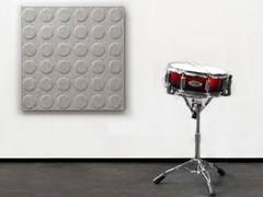 Pannello acustico a parete in lanaWHISPERWOOL OBLONG | Pannello acustico a parete - TANTE LOTTE DESIGN