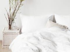 Coordinato letto a tinta unita in linoWHITE | Coordinato letto - BALTIC FLAX, UAB