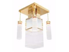 Lampada da soffitto fatta a mano in ottone WIENER IV | Lampada da soffitto - Wiener