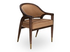 Sedia in frassino e vellutoWILLOW II - SALMA FURNITURE