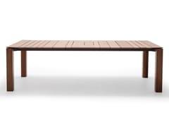 Tavolo rettangolare in legnoWIND ME 5835 - ANDREU WORLD
