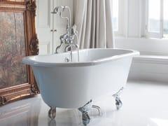 Vasca da bagno ovale in acrilico su piediWINDSOR - BATHROOM BRANDS GROUP