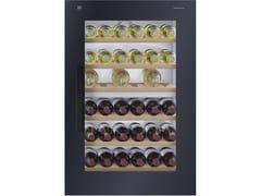 Cantinetta frigo da incasso in vetro a specchio con illuminazione classe AWINECOOLER SL - V-ZUG