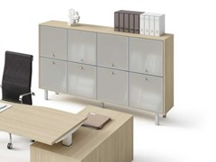 Mobile ufficio modulare in vetro temperatoWINGLET   Mobile ufficio in vetro temperato - BRALCO