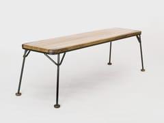 Panca in legno e metalloWIRED - METAL&WOOD