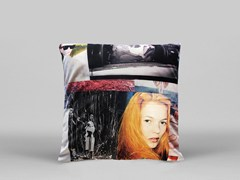 Cuscino quadrato sfoderabile WOO - ART10 - Limited Edition Art Pillows
