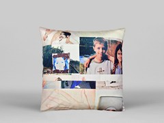 Cuscino quadrato sfoderabile in cotone WOO - ART11 - Limited Edition Art Pillows