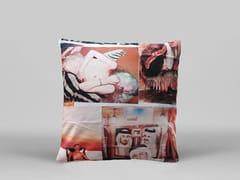 Cuscino quadrato sfoderabile WOO - ART12 - Limited Edition Art Pillows
