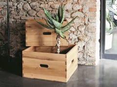 Tavolino rettangolare in rovere da salottoWOOD - ALTA CORTE