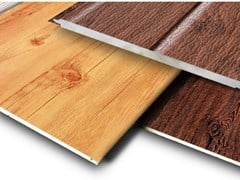 Pannello sandwich per controparete WOOD PATTERNS - MTC INDUSTRIAL CO.