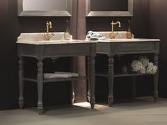 Mobile lavabo da terra in legnoPROVENZALE - BLEU PROVENCE