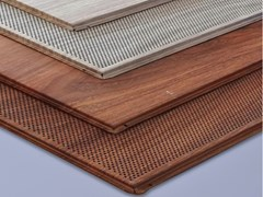 ITP, WOODEN STAR METAL Pannelli per controsoffitto in acciaio zincato effetto legno