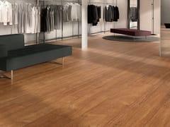 COTTO D'ESTE, WOODLAND - TEAK Pavimento/rivestimento in gres laminato effetto legno